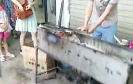 正川厨艺龙泉学员烤鱼店开业