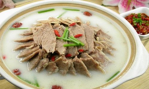冬至吃羊肉汤