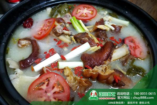 脆皮猪蹄汤锅培训