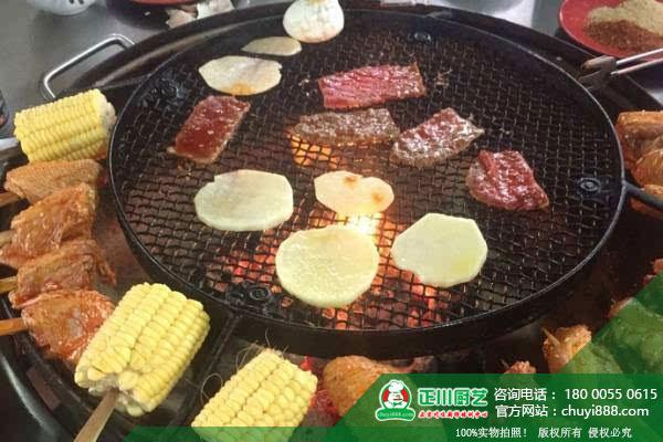 成都特色火盆烧烤技术培训
