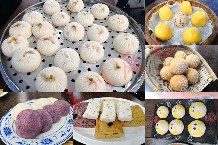 正川厨艺实拍学员包子早餐作品